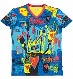 Футболка Basquiat BLUE